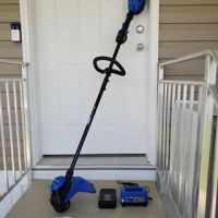 Kobalt 40-Volt Max 15-in Straight Cordless String Trimmer (1-Battery Included)