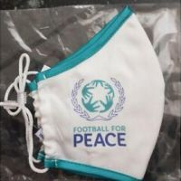 Reusable Face Masks Football for Peace
