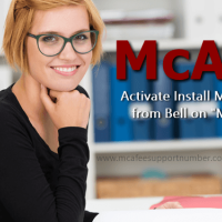 Install McAfee Security from Bell | McAfee Installation Support