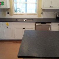 Angola Black Leather Granite | Kitchen Worktop Sale at Best Price in L