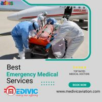 Use Highly Developed Air Ambulance Service in Guwahati by Medivic