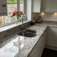 Best Thunder White 6019 Granite Kitchen Worktop for Sale London
