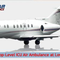 Topmost Commercial Air Ambulance Service in Shillong at Low Cost