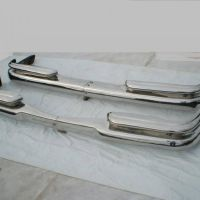 Mercedes Benz W111 Coupe stainless steel bumpers