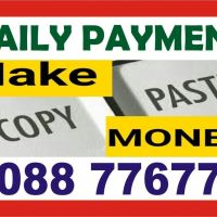 Hiring - Part time work from Home | Copy Paste Work | 1703 | Daily Pay
