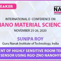 Nanotechnology and Material Science Webinar 2020