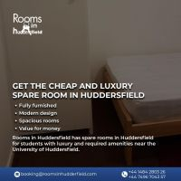Get the cheap and luxury Spare room in Huddersfield