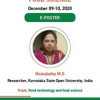 Nutrition and Food Science Virtual Meet