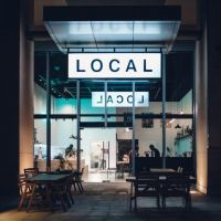 Local Abu Dhabi | Cafe, Barbershop, and Sneaker store