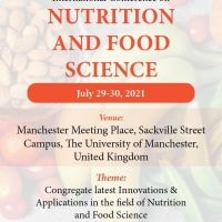 International Conference on Nutrition and Food Science 2021
