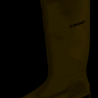 Dunlop unisex Pricemaster green Wellington boots – Ladies, Women or Men's. Size 8/42.