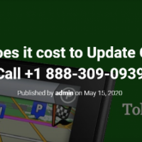 How much does it cost to Update Garmin GPS?