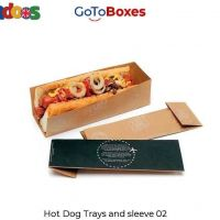 Get eco-friendly Hot Dog Boxes with free shipping