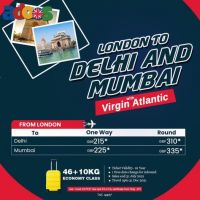 United Kingdom to India flights starting from £310*