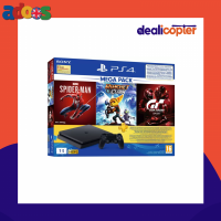Gaming ConsolesTechnology SONY PS4 Slim 1000 GB with Spider Man, Ratch