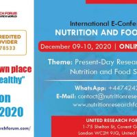 International E-Conference on Nutrition and Food Science 2020