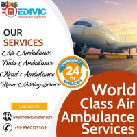Use Paramount ICU Air Ambulance Services in Delhi by Medivic