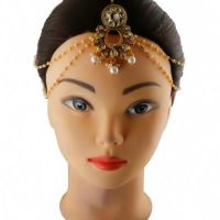 Shop for a Collection of Matha Patti for Women from Anuradha Art Jewel
