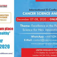 International E-Conference on Cancer Science and Therapy 2020