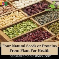Natural seeds or proteins from plants