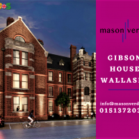 3 bedroom property for sale | Blenheim Road, Gibson House Wallasey