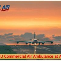 Get Extra-Advanced MICU Setup Air Ambulance Service in Siliguri