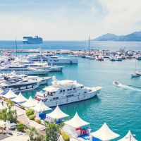 Hire Yacht  during Cannes Lions Event