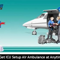 Take The World's Fastest Commercial Air Ambulance from Patna to Delhi