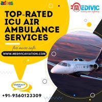 Book Authentic Medivic Air Ambulance Services in Kolkata Anytime