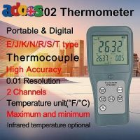 RTM1202 High-accuracy Infrared Thermocouple Thermometer with 2 Channel