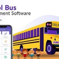 School transportation application: Build with the necessary security