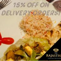 Enjoy 10% Discount on Collection Orders Over £20 | The Rajasthan