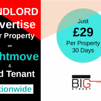 Landlord, find tenant for your property nationwide on UK's #1 Rightmove @ just £29