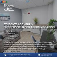 Students looking in Huddersfield for accommodation