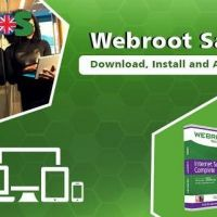Webroot.com/safe - Enter Product Code - Install Webroot