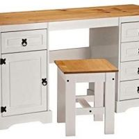 Corona Double Pedestal Computer Table or Dress - Up to 50% off! Hurry!