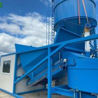Containerized mobile concrete plant SUMAB K-60