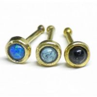 Purchase Brass Nose Pins From Sacred Skin Body Jewellery