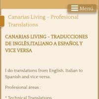PROFESSIONAL TRANSLATIONS FROM ENGLISH TO SPANISH AND ITALIAN