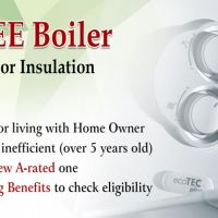 Free Replacement of Gas Boiler with Underfloor Insulation