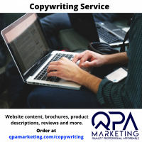 Copywriting Services - Product and service descriptions, online adverts, website pages, classified ads, brochures, leaflets and posters