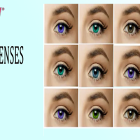 Contact lenses - bf cosmetics