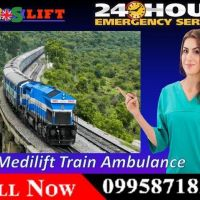 Get Amazing and Affordable Train Ambulance in Guwahati by Medilift