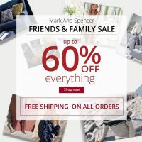 Mark And Spencer Friends And Family Sale Get 20% Off
