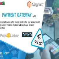 Magento Pay4later-Deko Payment Gateway