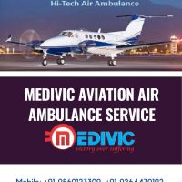 Book the Optimum Commercial Air Ambulance in Bokaro  by Medivic