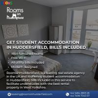 Get Student accommodation in Huddersfield, bills included